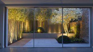 outdoor garden uplighting